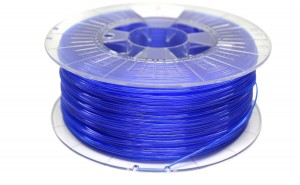 Filament Spectrum PETG Transparent Blue 1kg 1,75mm